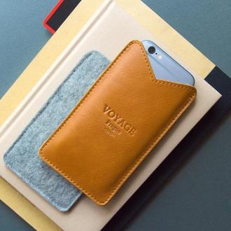 Кожаный чехол для iPhone X, 8 & 7 Plus // LOFT
