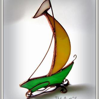 Статуетка Вітраж Парусник
