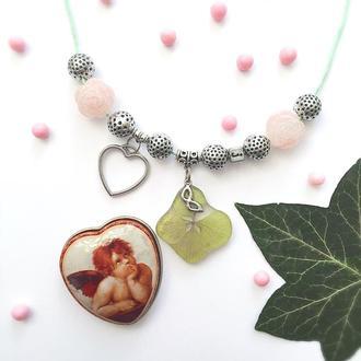 Ожерелье Венецианская гортензия