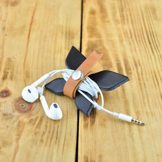 Органайзер для наушников в виде бабочки