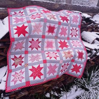 Лоскутное покрывало, пэчворк, лоскутное одеяло