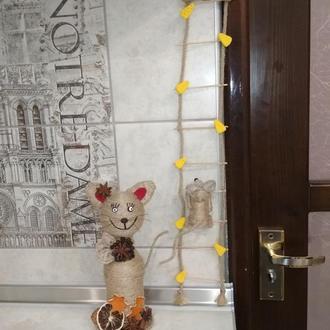 Декоративная лесинка с мишками.