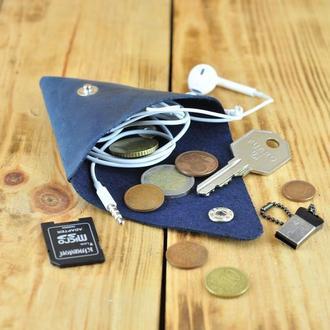 Монетница для мелочи, кошелек для ключей и флешек