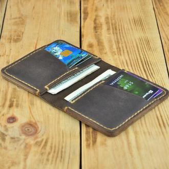 Мужской, женкий кошелек бумажник для карт и денег