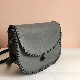 Вовняна сумка / Шерстяная сумка