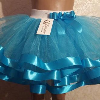 Детская юбка на резинке, модель № 68