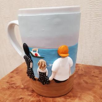 Ваше фото на чашке Подарки любимым на 14 февраля подарок на день влюбленных