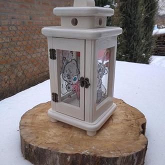 Дерев'яний ліхтарик
