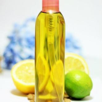 """Цветочно-Цитрусовое мультивитаминное Push-Up масло для груди и зоны декольте ручной работы. """"Эко Гармония"""""""