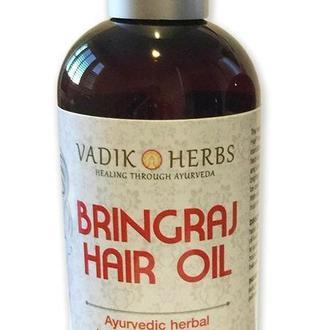 Брингарадж Масло Вадик Хербс 237мл Bringraj Hair Oil Vadik Herbs. Для укрепления и роста волос.