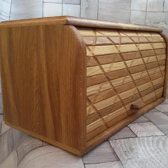 Хлебница деревянная (дуб)