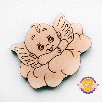 Фигурные накладки (шильды) Ангел маленький