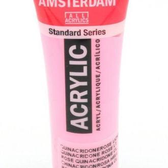 Краска акриловая Amsterdam Royal Talens 20мл №385 Розовая хинакридон светлая
