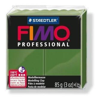 Глина полимерная FIMO Professional 85г зеленая травяная 8004-57