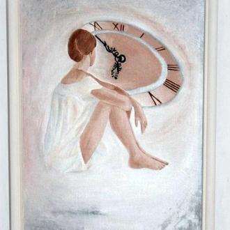 Картина маслом «Ожидание»