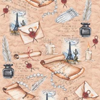 Декупажная карта-бумага 29,5*42см Vintage Design Сокровенное Е-088