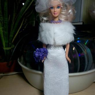 Свадебный наряд для Барби