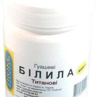 Гуашь ЛЮКСКОЛОР 450мл Белила титановые БТ-24