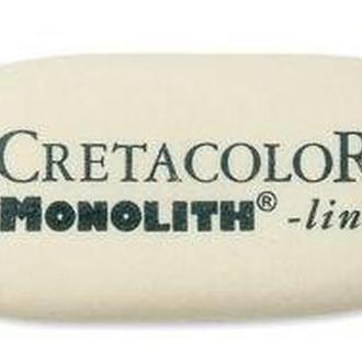 Гумка-ластик большая CRETACOLOR Monolith 65*30мм натуральный каучук 30022