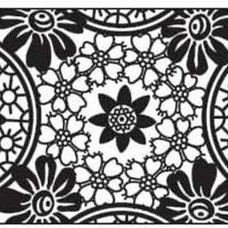 Калька URSUS А4 115г/м Черно-белая Кругл орнамент UR-53984605R