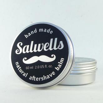Натуральное средство для ухода за кожей после бритья SALWELLS aftershave balm