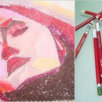 Карандаш пастельный DERWENT Pastel Pencils мягкий, для проф. P150 Телесный D-2300244