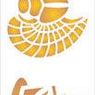 Трафарет 11*33см 075 Серия Египет скарабей