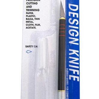 Нож макетный DAFA пластиковая ручка C-600