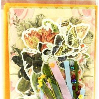 Набор открыток и украшений для скрапбукинга EnoGreeting SKH-002 6шт