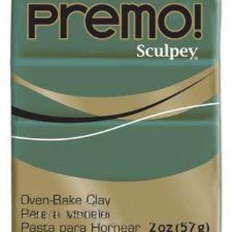 Глина полимерная Sculpey Premo Зеленая темная 57г 5535