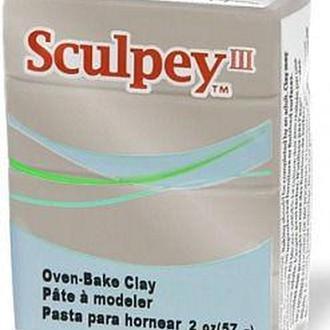 Глина полимерная Sculpey III Серая перламутровая 57г 1105