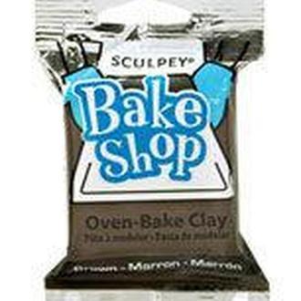 Глина полимерная Sculpey Bake Shop Коричневая 57г BА1832