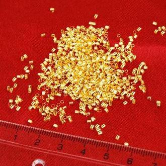 Стопперы Margo 1,5мм, 5г Золото