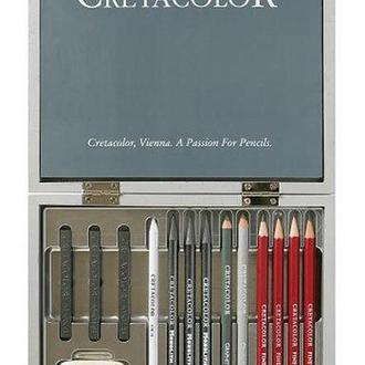 Набор для графики CRETACOLOR Silver Box 17шт дер. коробка 90740017