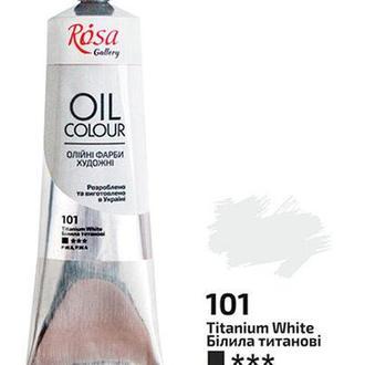 Краска масляная ROSA Gallery 100мл Белила титановые 3263101