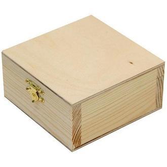 Заготівля для декорування Rosa Talent Скринька деревян з замком 21х7х7см 2725017