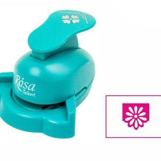 Дырокол фигурный для скрапбукинга угловой Rosa Talent вырубка 2,5см Узор №6 8810М05