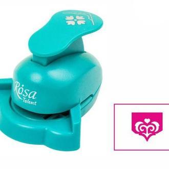 Дырокол фигурный для скрапбукинга угловой Rosa Talent вырубка 2,5см Узор №7 8810М08