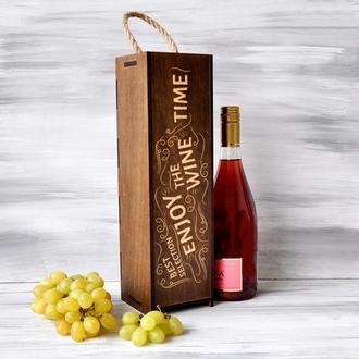 """Винная коробка """"Wine time"""""""