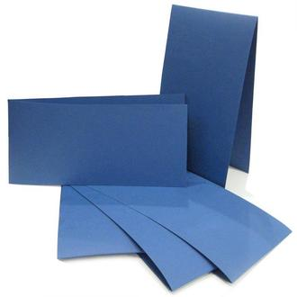 Набор заготовок для открыток 5шт 10,5х21см №4 темно Синий 220г/м Margo 94099024