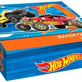 Гуашь набор 12цв. Kite мод 063 Hot Wheels 20мл HW17-063 34338