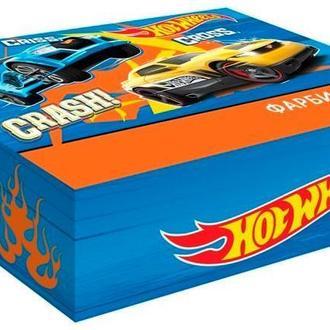 Гуашь набор 6цв. Kite мод 062 Hot Wheels 20мл HW17-062 34334