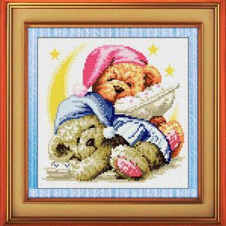 Набор алмазной вышивки LasKo TD003 Спящие медвежата