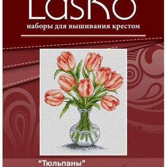 Набор для вышивания LasKo K048 Тюльпаны