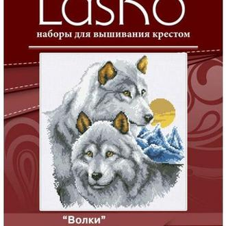 Набор для вышивания LasKo T069 Волки