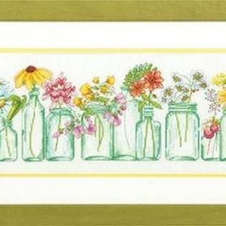 Набор для вышивания Dimensions 70-35310 Цветы в банках