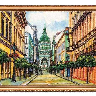 Набор для вышивания бисером Абрис 40*30 см AB-142 Будапешт