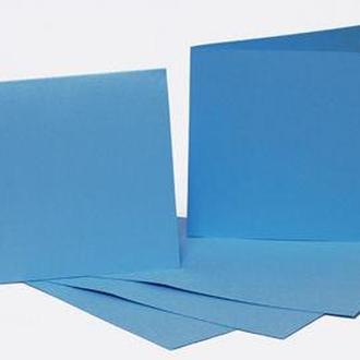 Набор заготовок для открыток 5шт 16,8*12см №5 Голубой 220г/м Margo 94099076