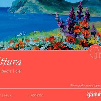 Альбом для акрила и масла Fabriano (Gamma) 37*49 см 10л. 400г/м2 Pittura P4003749K10