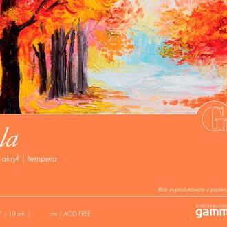 Альбом для акрила и масла Fabriano (Gamma) 12,5*18 см 10л. 300г/м2 Tela TE3001218K10